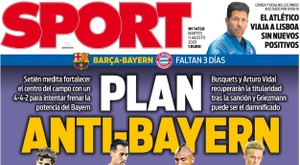 Capa da revista Sport de 11 de agosto de 2020. Sport