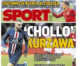 Les Unes des journaux sportifs en Espagne du 4 avril 2020. Sport