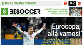 Estas son las portadas de la prensa deportiva de hoy. Montaje/Marca/Sport