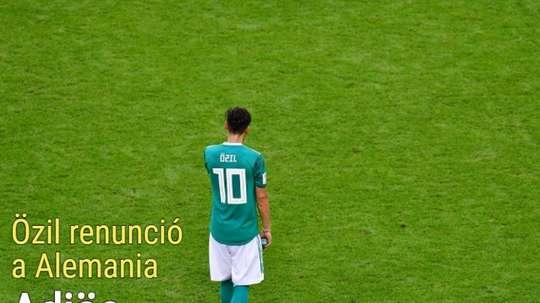 La renuncia de Özil ocupa la parte principal de nuestra portada. BeSoccer