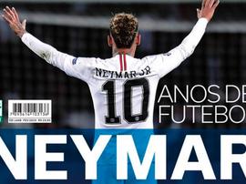 Polémica en Brasil: ¿es Neymar el mejor desde Pelé? Placar