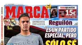 La Une de Marca du 21/08/2019. Marca