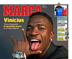 Les Unes des journaux sportifs du jour. Marca