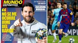 Messi se moja. MundoDeportivo/EFE