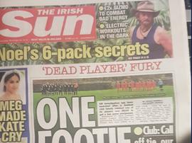 En Irlanda no dan crédito a lo rocambolesca historia... TheIrishSun