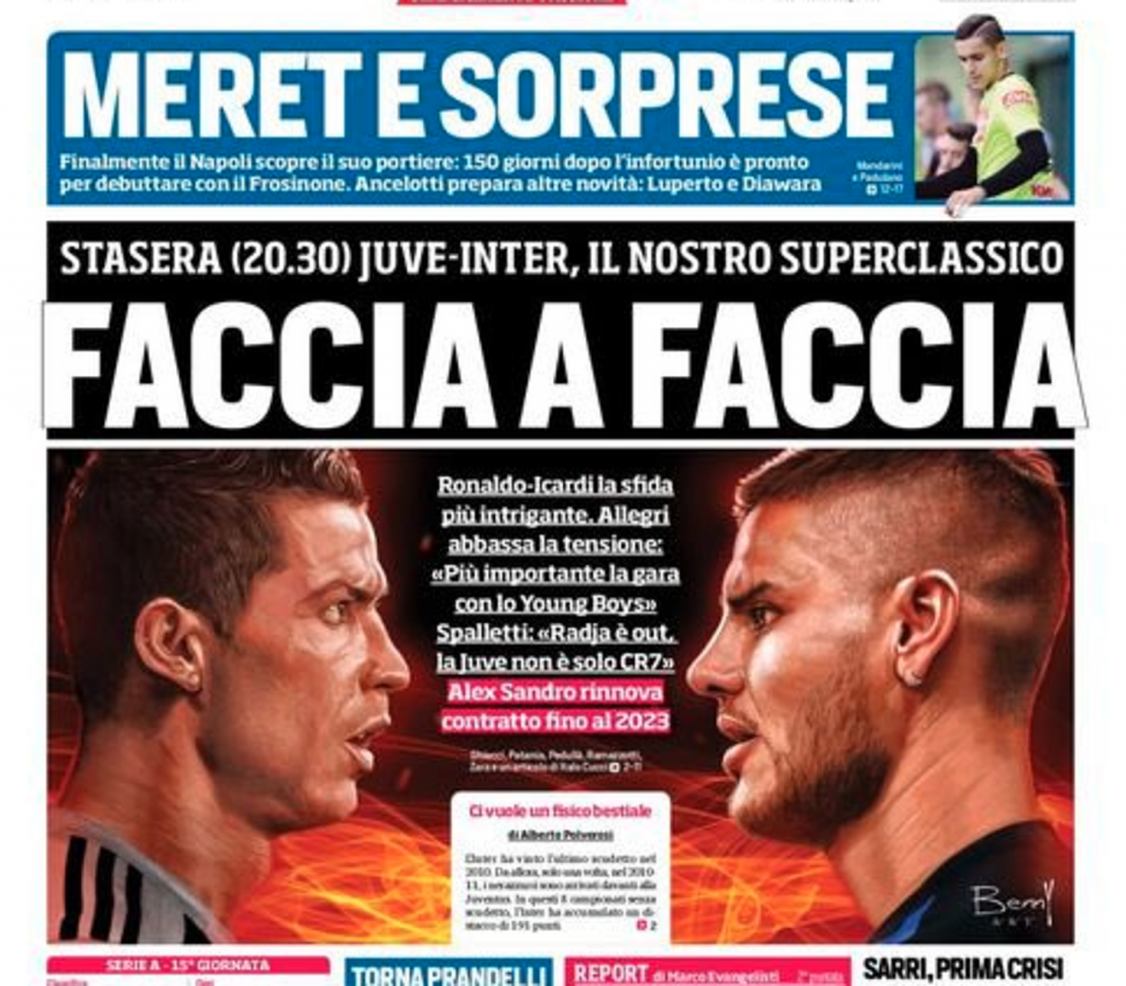 Ronaldo secoue Messi à sa manière — Mercato / Juventus