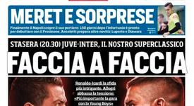 Face à face ce soir. CorrieredelloSport