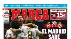 Les Unes des journaux sportifs en Espagne du 23 octobre 2019. Marca