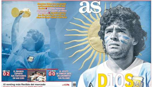 Les Unes des journaux sportifs en Espagne du 26 novembre 2020. as