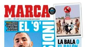 Capa da revista Marca de 02-08-2020. Marca