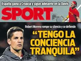 Les Unes des journaux en Espagne du 21 novembre 2019. Sport