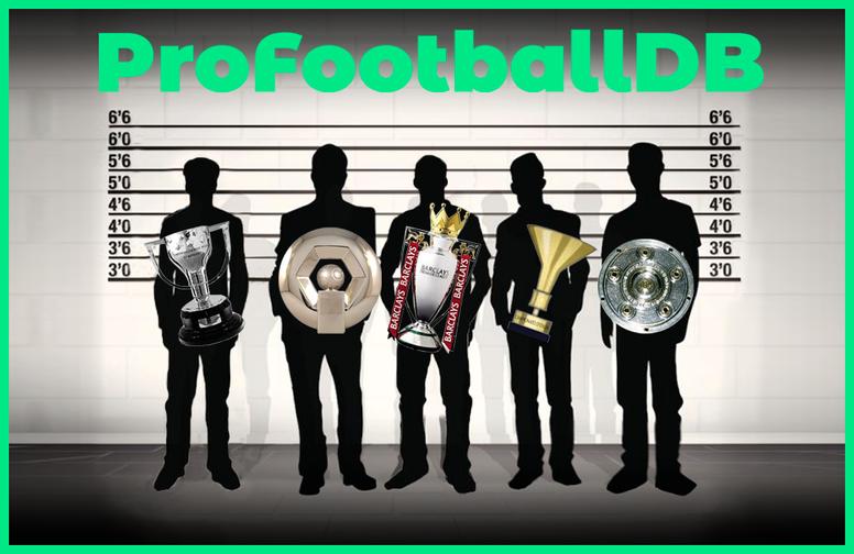 El retrato robot del futbolista profesional: altura, peso y edad de 27 ligas. BeSoccer