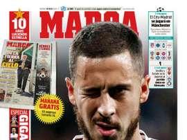 Les Unes des journaux sportifs en Espagne du 10 juillet 2020. Marca