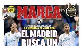 La Une de Marca du 13/10/2018. Marca