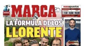 Une de Marca du 15/12/2018. Marca