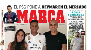 La Une de Marca du 18/06/2019. Marca