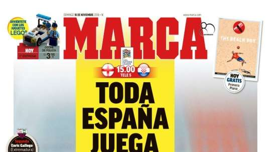 La Une de Marco. Marca