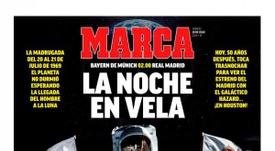 Portadas de la prensa deportiva del 20-07-19. Marca