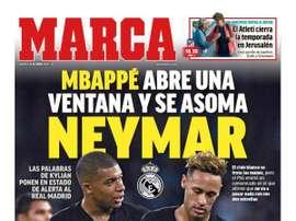 Unes des journaux d'Espagne. Marca