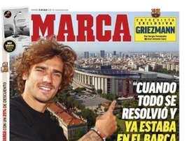 Les Unes des journaux sportifs espagnols du 21/07/2019. Marca
