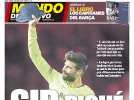 Une de Mundo Deportivo du 12/04/2019. MD