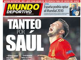 La Une de Mundo Deportivo du 13/09/2018. MD