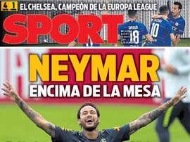La Une de Sport. Sport