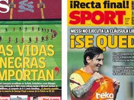 Portadas de la prensa deportiva del 02-06-20. AS/Sport