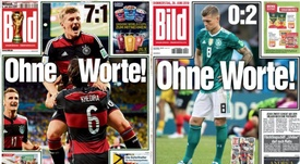 Bild reused their famous front page. BILD