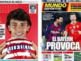 Portadas de la prensa deportiva del 12-08-20. Marca/MundoDeportivo