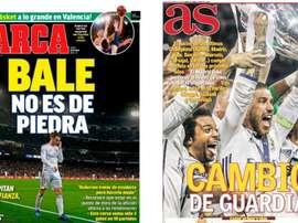 Portadas de la prensa deportiva del 28-05-20. Marca/AS
