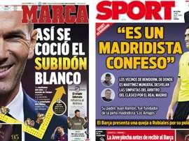 Portadas de la prensa deportiva del 26-10-20. Marca/Sport