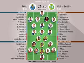 Porto - Vit. Setúbal 22ª jornada. BeSoccer