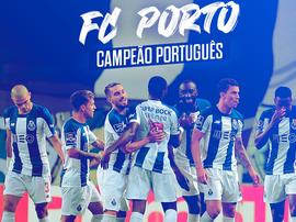 Porto é o campeão português da temporada 2019-20. BeSoccer