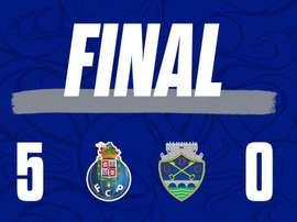 Porto estreia com vitória no Campeonato Português. Twitter @FCPorto
