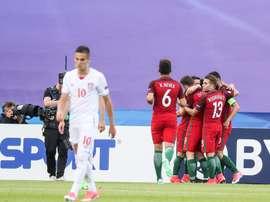 Portugal bateu o País de Gales por 2-0. FPF