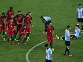 Argentina 'se cargó' una racha histórica. AFP
