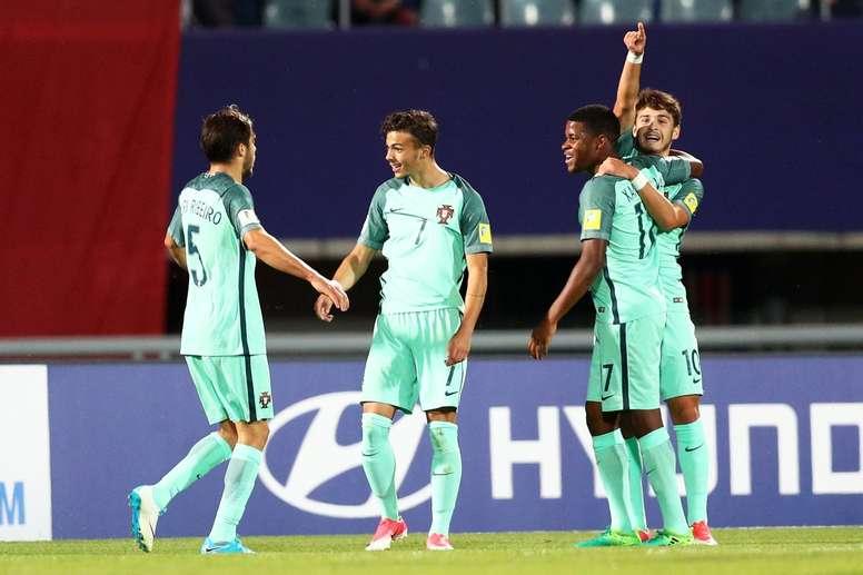 A Seleção Portuguesa bateu a da Coreia do Sul por 1-3. Twitter
