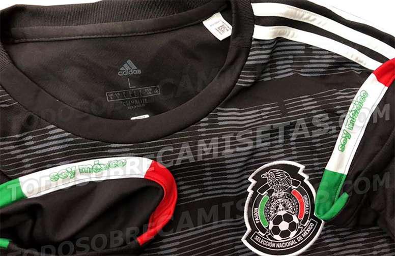 Se filtra la posible nueva camiseta de México - BeSoccer d7cbd2e83a3e1