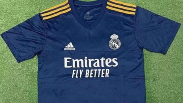 Filtran la posible segunda camiseta del Real Madrid 2021-22. FootyHeadlines
