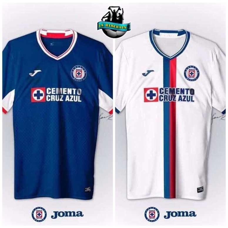 Filtran las posibles nuevas camisetas de Cruz Azul - BeSoccer fa430b453fa56