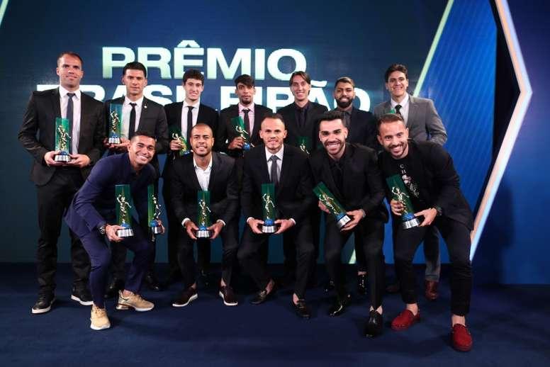 Prêmio Brasileirão 2019 reunirá craques na próxima segunda-feira. Lucas Figueiredo/CBF