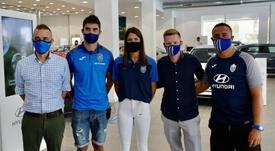 El Atlético Baleares ficha a Olaortua y Maialen, que son... ¡marido y mujer! AtléticoBaleares