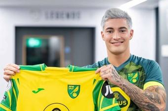 Mathias Normann llega al Norwich en calidad de cedido. Twitter/NorwichCityFC