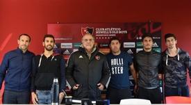 Presentación de Matos, Quignon, Moiraghi, Prediger y Amoroso como nuevos jugadores Newell's Old Boys. CANO