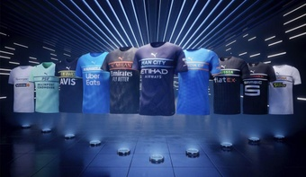 The controversial ten jerseys presented by Puma for the 21-22 season. Puma