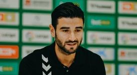 Barragán debutó como tercer central frente al Alavés. Twitter/ElcheClubdeFútbol