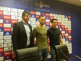 Ortiz llegó a un acuerdo con el Oviedo para rescindir su contrato. RealOviedo