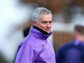 Les promesses de José Mourinho. Twitter/SpursOfficial