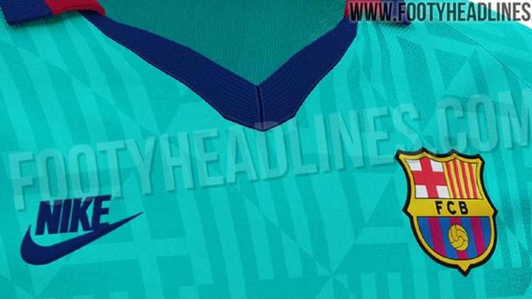 new concept f082c ef461 Barca's third kit brings back memories of 1992 - BeSoccer
